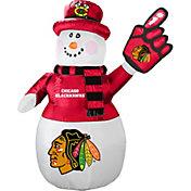 Boelter Chicago Blackhawks 7' Inflatable Snowman