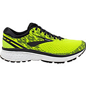 Brooks Men's Ghost 11 Running Shoes in Black/Lime