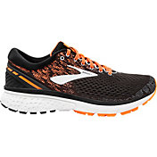 Brooks Men's Ghost 11 Running Shoes in Black/Orange
