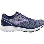 Brooks Women's Ghost 11 Running Shoes in Navy/Purple