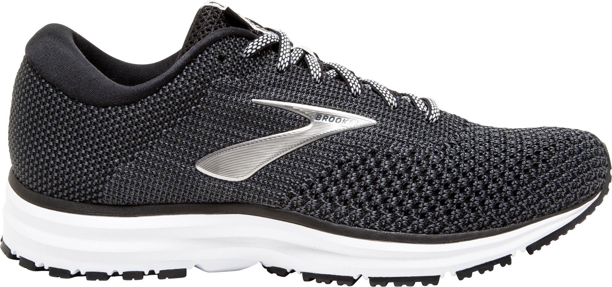 black brooks running shoes