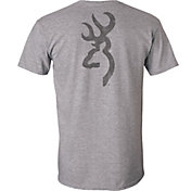 Browning Men's Buckmark Distressed Short Sleeve T-Shirt