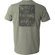 Browning Men's Finest Firearms Short Sleeve T-Shirt