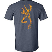 Browning Men's Gun Shapes Buckmark Short Sleeve T-Shirt