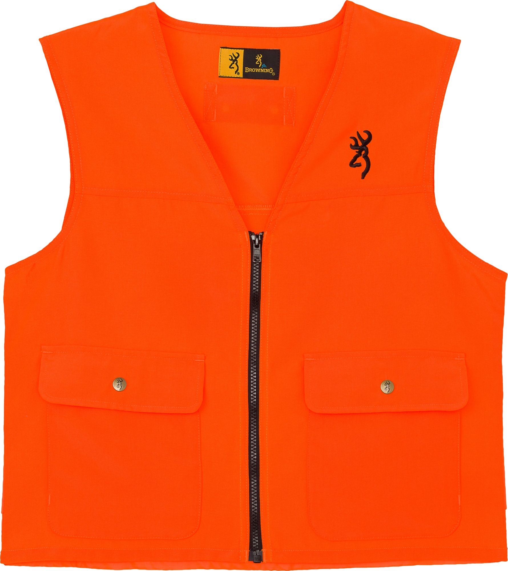 Browning Youth Safety Vest, Boy's, Size: Medium, Orange thumbnail