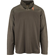 Browning Men's Milo Quarter-Zip Fleece Pullover Shirt