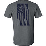 Browning Men's Rifle Flag Short Sleeve T-Shirt