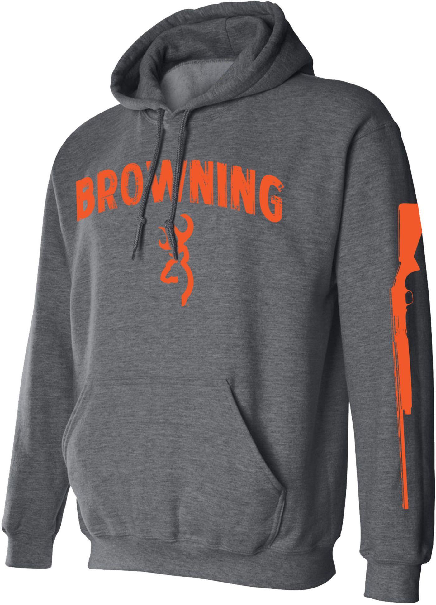 Browning Men's Shotgun Sleeve Fleece Hoodie