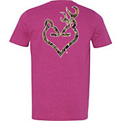 Browning Women's Mossy Oak Country Buckheart Short Sleeve T-Shirt