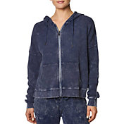 Betsey Johnson Women's Bleach Wash Waffle Jacket