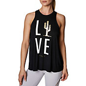 Betsey Johnson Women's Cactus Love Racerfront Swing Tank Top