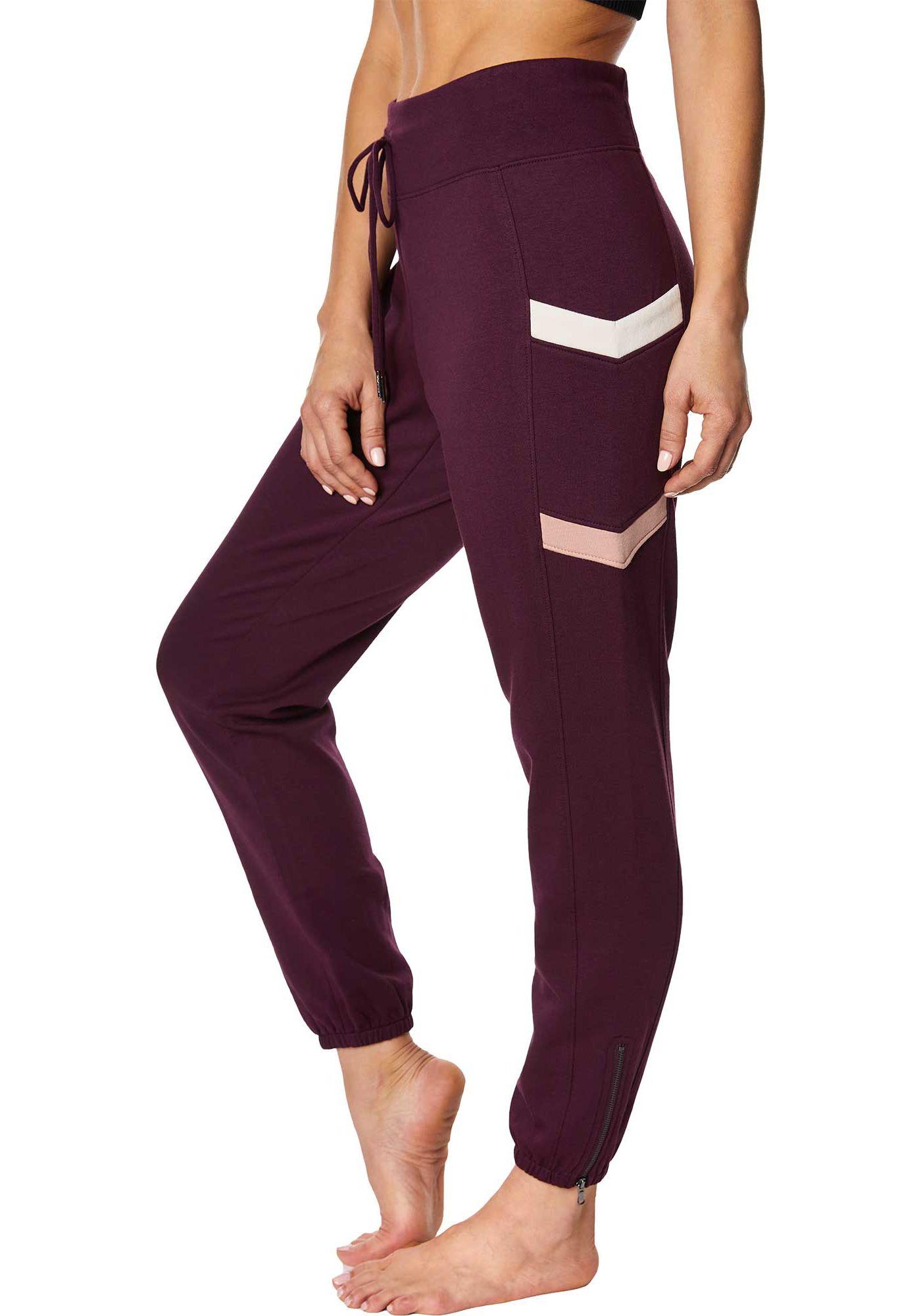 Betsey Johnson Women's Chevron Colorblock Sweatpants