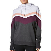 Betsey Johnson Women's Chevron Colorblock Hoodie