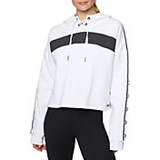 Betsey Johnson Women's Colorblocked X-Tape Hoodie