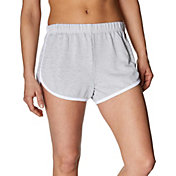 Betsey Johnson Women's Contrast Binding 3'' Track Shorts