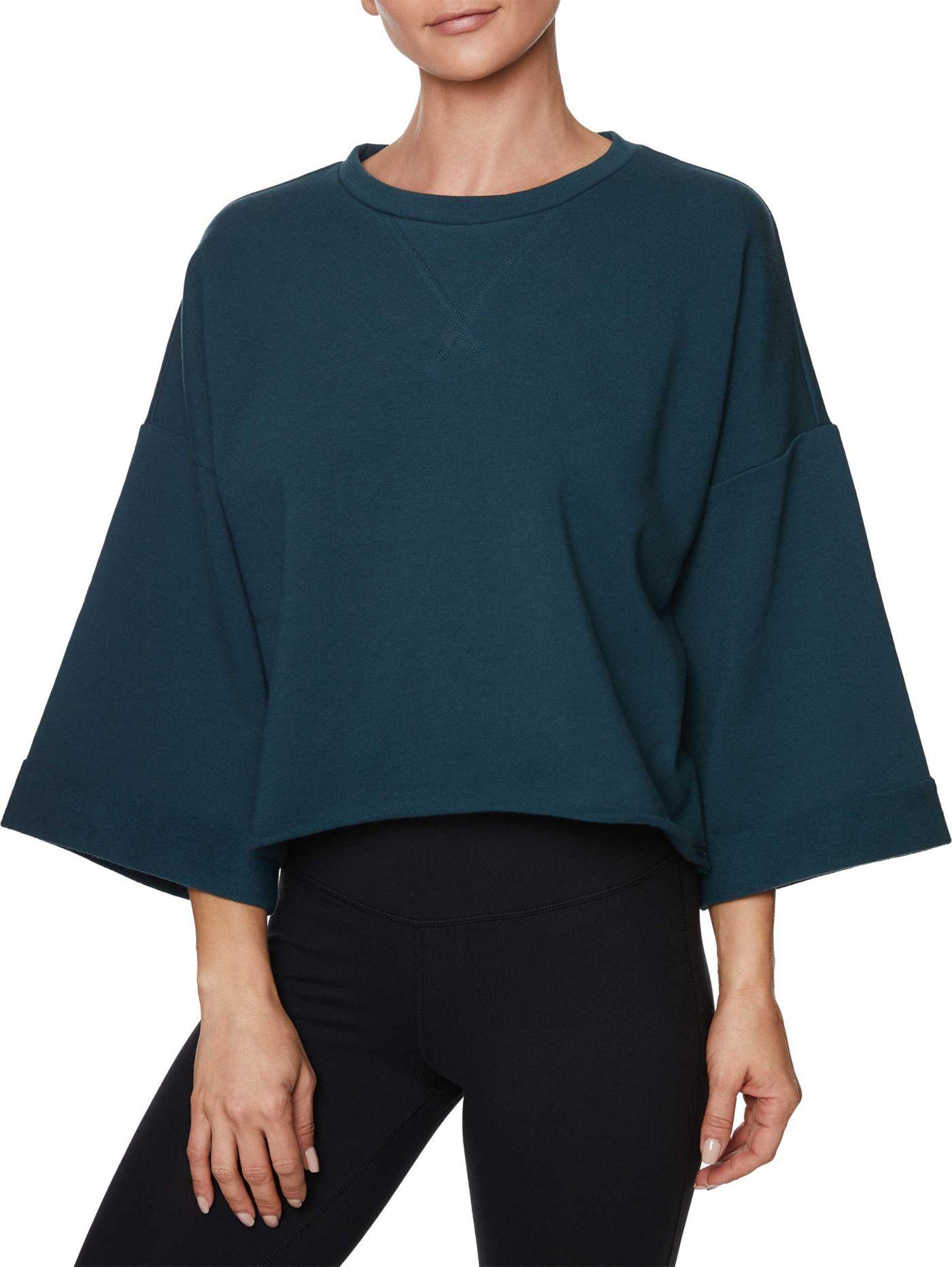 Betsey Johnson Women's Cropped Boxy Sweatshirt