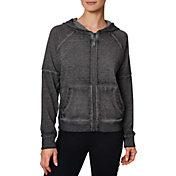 Betsey Johnson Women's Icy Fleece Full-Zip Hoodie