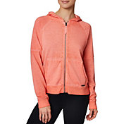 Betsey Johnson Women's Icy Fleece Full-Zip Hoodie