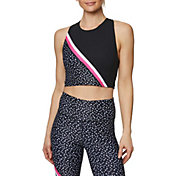 Betsey Johnson Women's Diagonal Colorblock Extended Bra