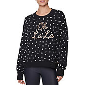 Betsey Johnson Women's 'Oh La La' Painted Dot Pullover