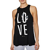 Betsey Johnson Women's Love Butterfly Racerback Tank Top