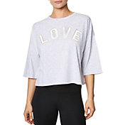 Betsey Johnson Performance Women's Love Arch Boxy T-Shirt