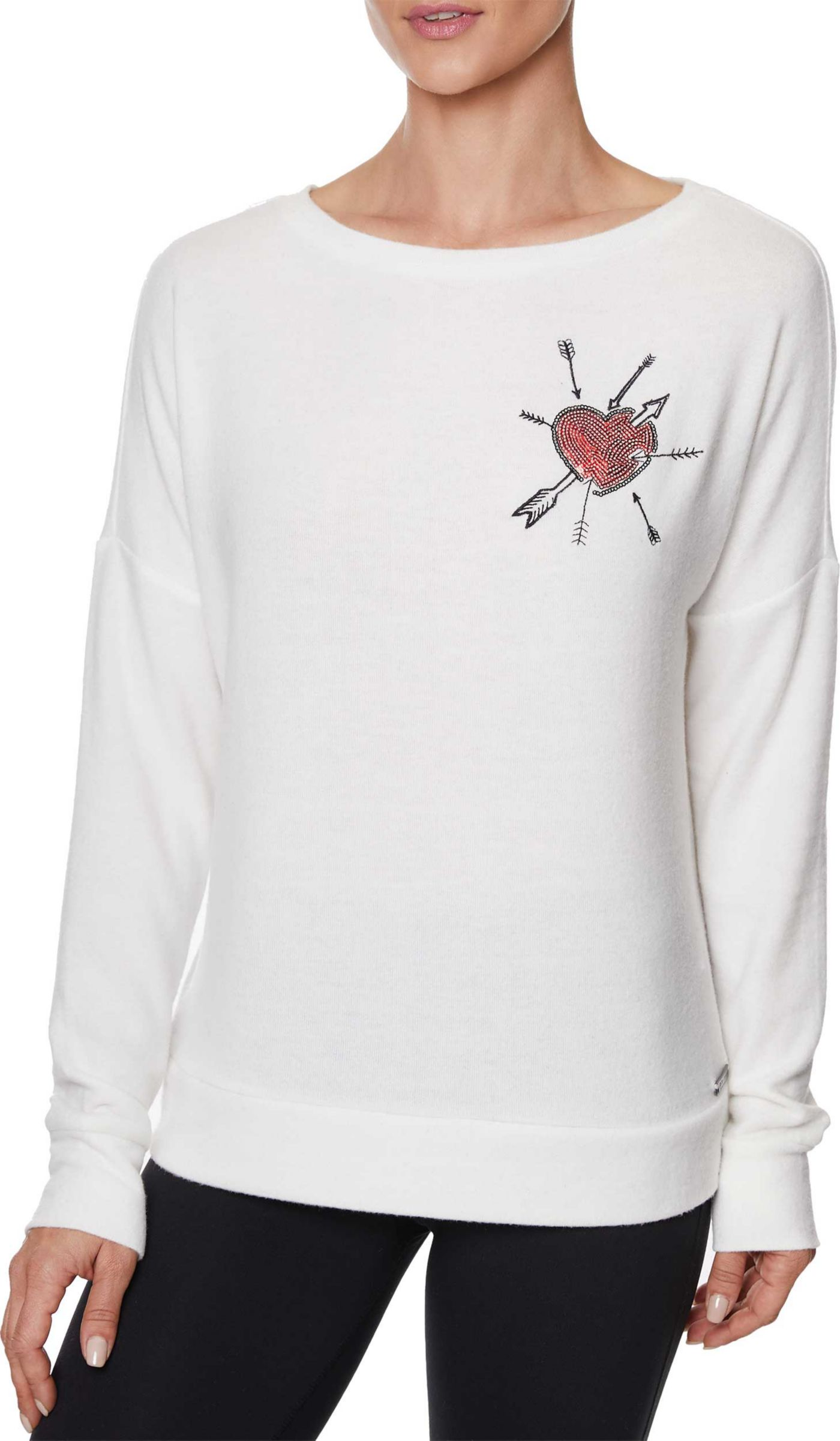 Betsey Johnson Women's Embroidered Pullover