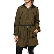 Betsey Johnson Performance Women's Mesh Detail Parka