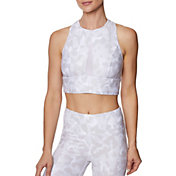 Betsey Johnson Women's Mesh Inset Sports Bra