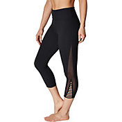 Betsey Johnson Women's Mesh Vented Crop Legging