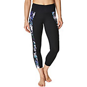 Betsey Johnson Performance Women's Infinity Loop Color Blocked 7/8 Leggings