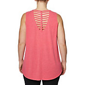 Betsey Johnson Women's Plus Size Braided Back Tank Top