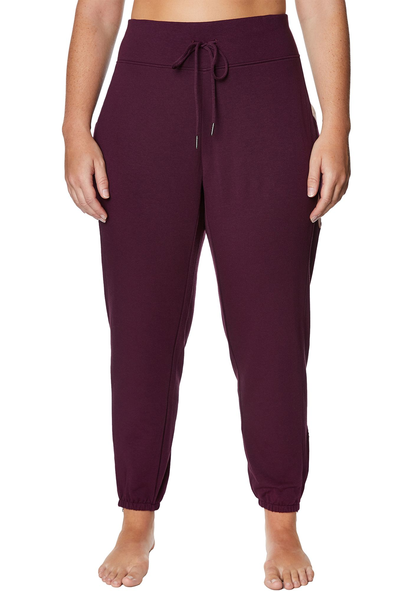 Betsey Johnson Women's Plus Size Chevron Colorblock Sweatpants