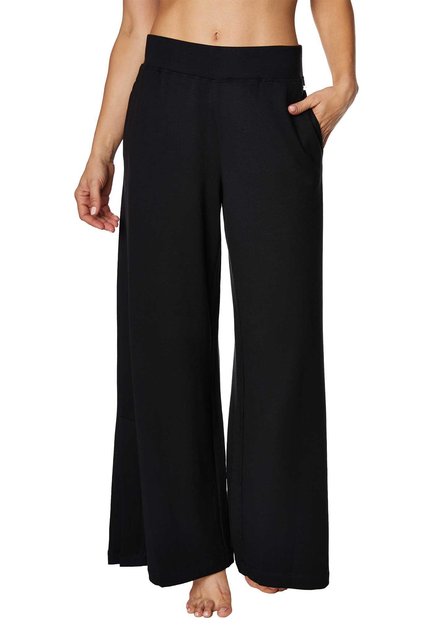 Betsey Johnson Women's Wide Leg Side Slit Pants