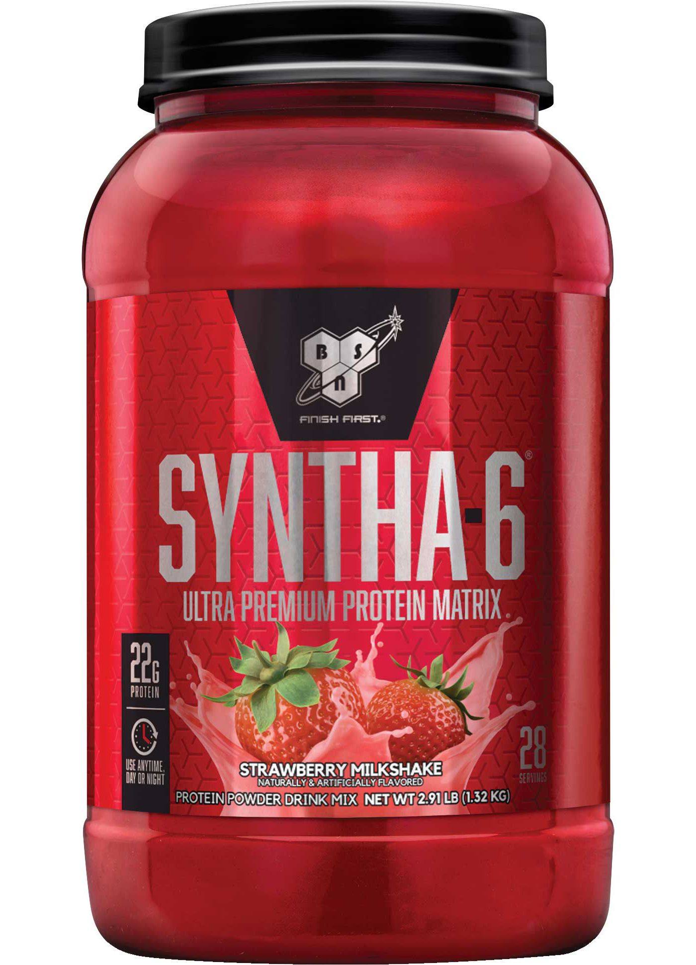 BSN® Syntha-6™ Strawberry Milkshake Protein Powder 28 Servings