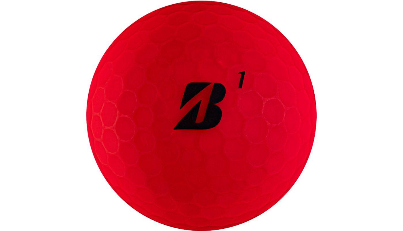 Bridgestone e12 SOFT Matte Red Golf Balls