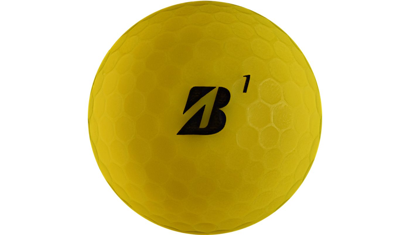 Bridgestone e12 SOFT Matte Yellow Golf Balls