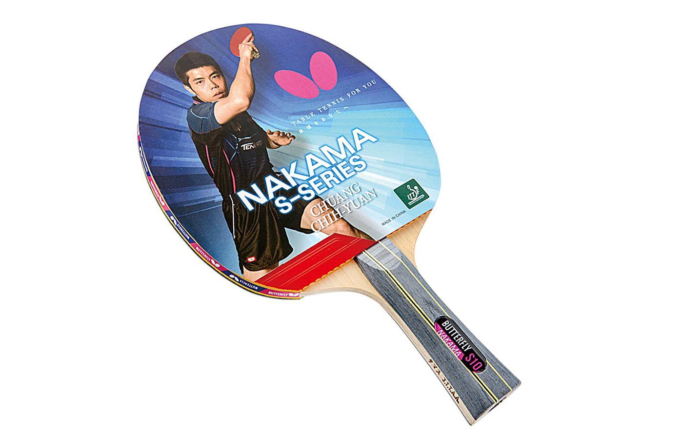 Butterfly Nakama S-10 Table Tennis Racket