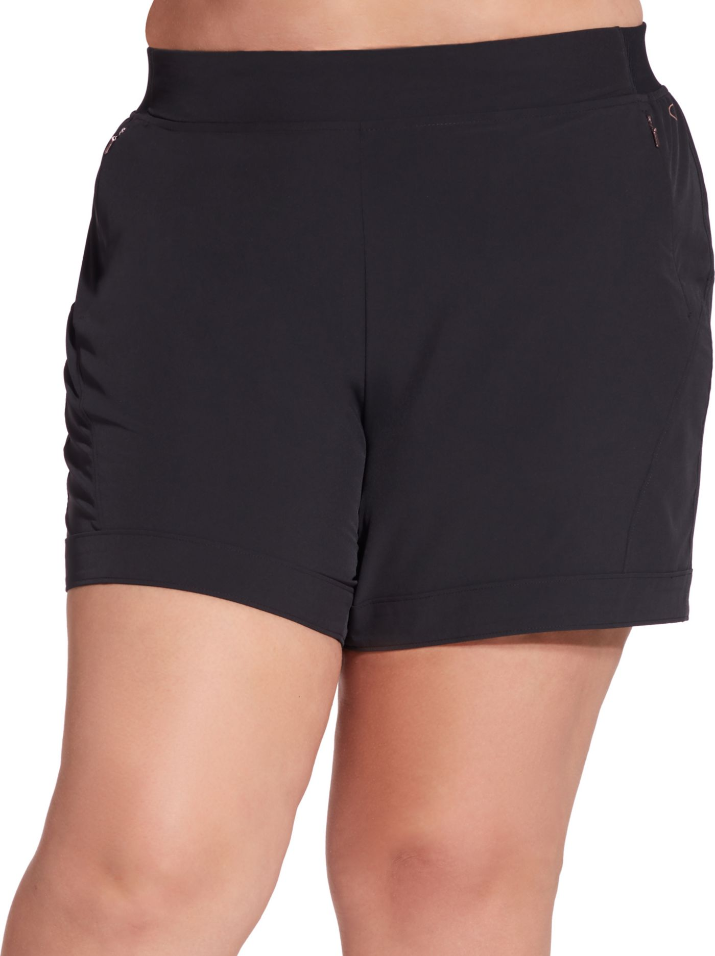 CALIA by Carrie Underwood Women's Plus Size Anywhere 5'' Cuff Shorts