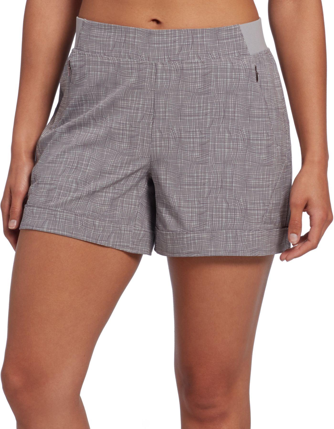 CALIA by Carrie Underwood Women's Anywhere Print 5'' Cuff Shorts
