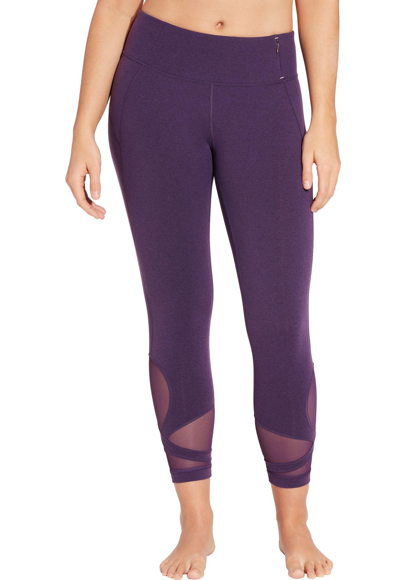 CALIA by Carrie Underwood Women's Essential 7/8 Wrap Leggings