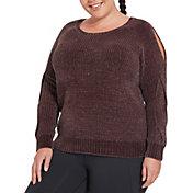 CALIA by Carrie Underwood Women's Plus Size Effortless Chenille Sweater