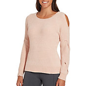 CALIA by Carrie Underwood Women's Effortless Chenille Sweater