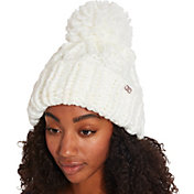 CALIA by Carrie Underwood Women's Chunky Knit Pom Beanie