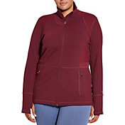 CALIA by Carrie Underwood Women's Plus Size Core Heather Fitness Jacket