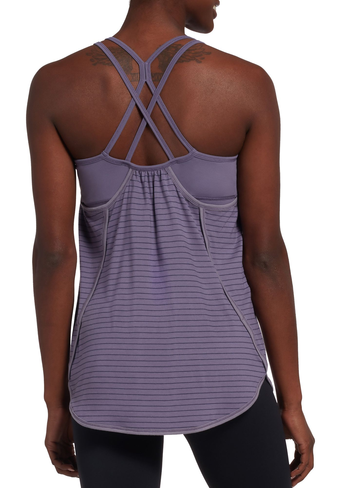 CALIA by Carrie Underwood Women's Double Layer Tank Top