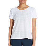 CALIA by Carrie Underwood Women's Knit Woven T-Shirt