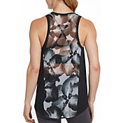 CALIA by Carrie Underwood Women's Move Mesh Printed Tank Top