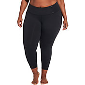 CALIA by Carrie Underwood Women's Plus Size Essential Mid-Rise 7/8 Leggings
