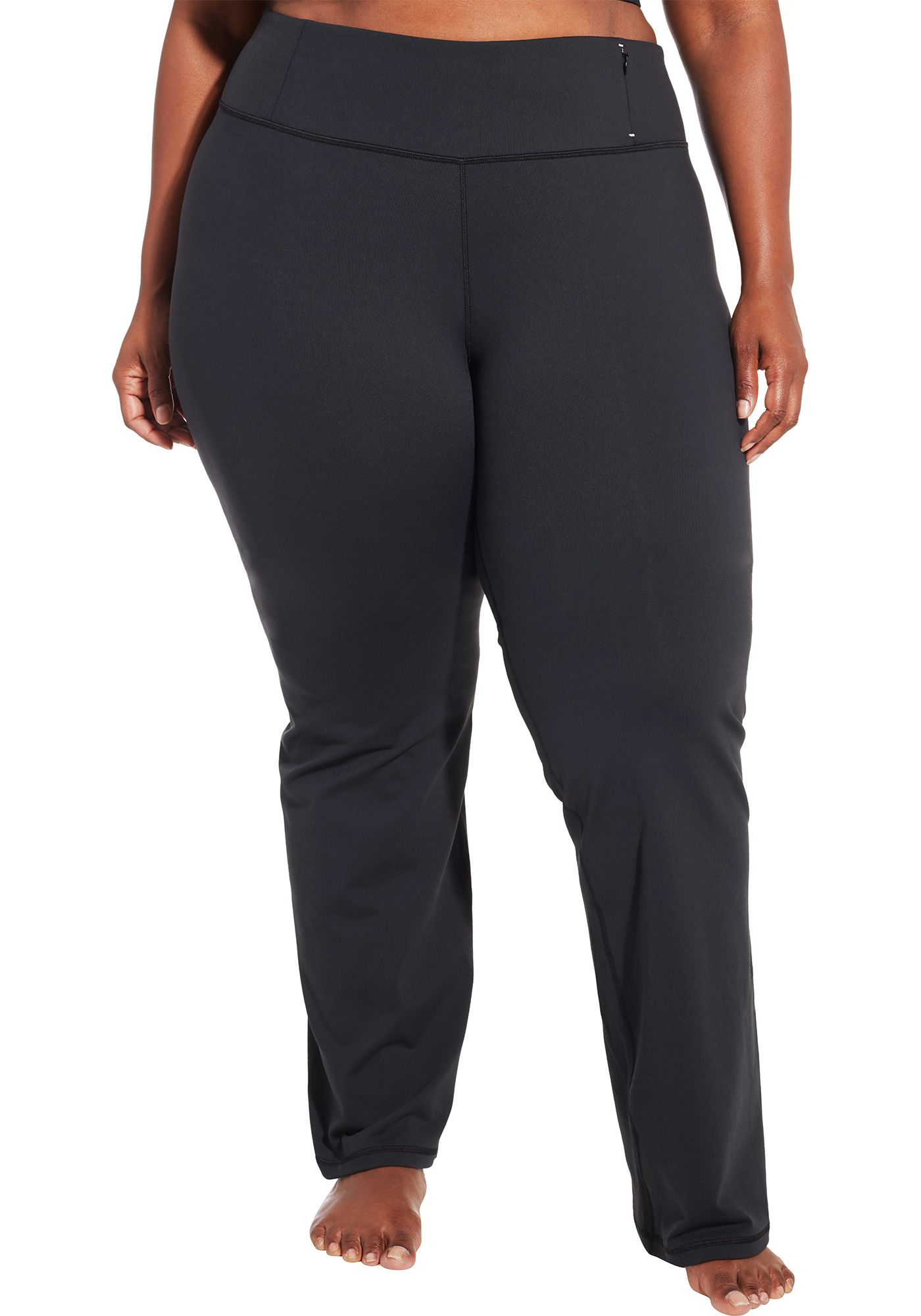 CALIA by Carrie Underwood Women's Plus Size Essential Mid-Rise Pants
